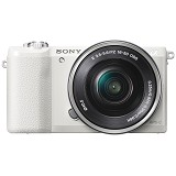 SONY Mirrorless Digital Camera Alpha A5100 [ILCE-5100L/WAP2] - White - Camera Mirrorless
